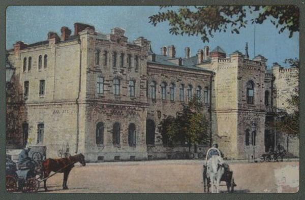 Foto: Voorimehed Balti jaama juures möödunud sajandi alguses.