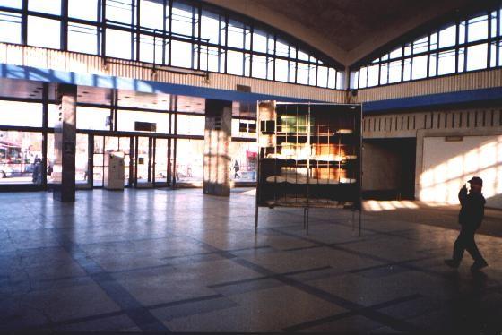 Foto: Linnalähirongide paviljoni sisevaade aastal 1988.