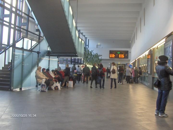 Foto: Balti jaama sisevaade aastal 2006
